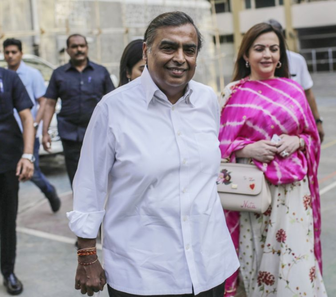 Meet Asia's richest man Ambani