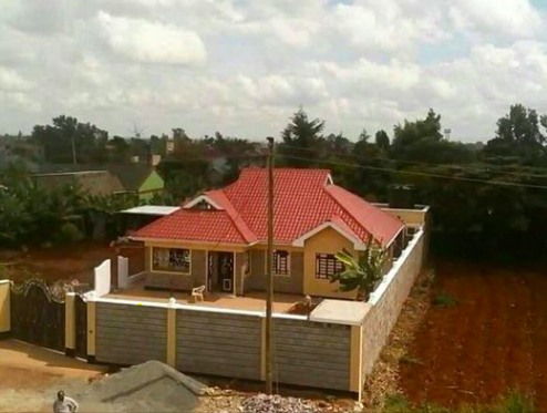 Modern 3 bedroom house for 995k kshs-see how.