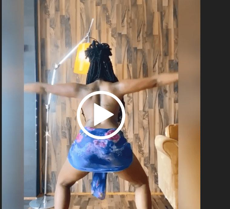 Video of Bontle Modiselle dancing topless leaves Mzansi men