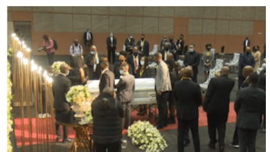 Funeral service of AKA's fiancée Nelli Tembe- WATCH LIVE