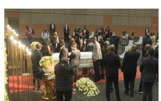 Funeral service of AKA's fiancée Nelli Tembe- WATCH LIVE