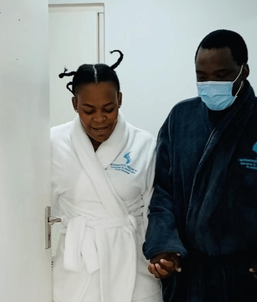 Viral footage of Zodwa Wabantu taking new bae for manhood enlargement