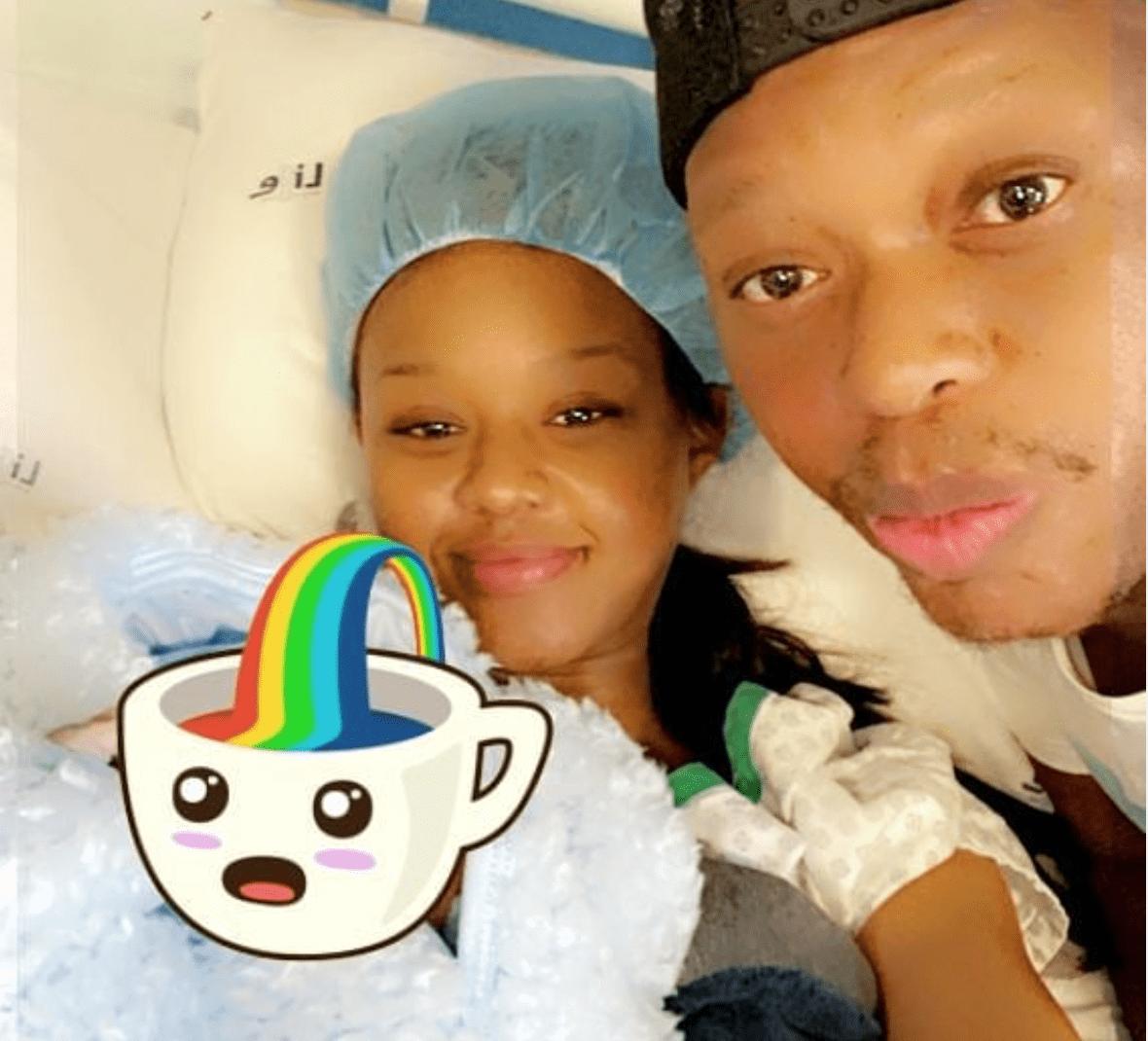 Meet Sponge Wodumo: Babes Wodumo and Mampintsha create social media account for their baby boy